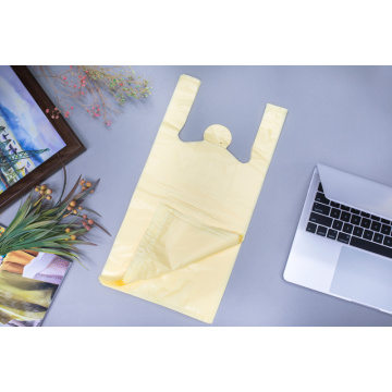 HDPE Plastic T-Shirt Bag in Color