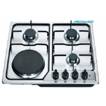Household  Silver Gas Cooktops