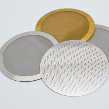 60 Micron Reusable Disk Filter for Coffee Makers