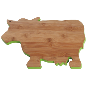 Cow shape cutting board