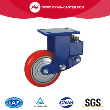 Swivel Plate Shock Absobing Wheels