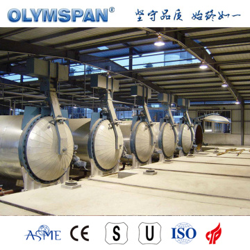 ASME standard cement CLC brick treatment autoclave
