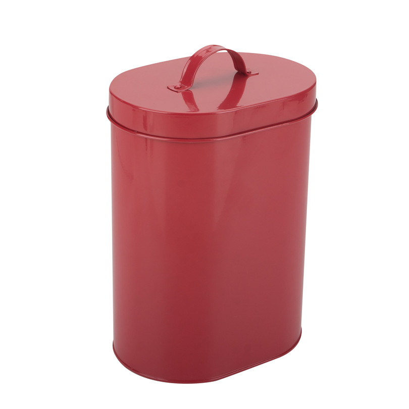 Red Pasta Storage Container