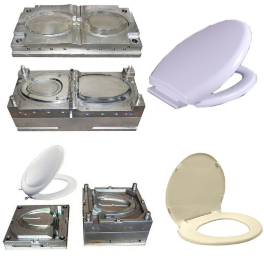Plastic Toilet Seat Pad Cover Injection Mould