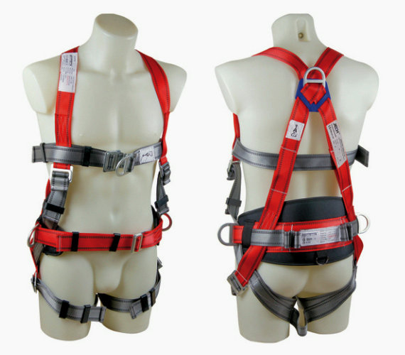 Safety Harness With Waist Pad Fp026