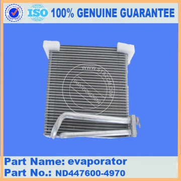 air conditioner evaporator ND447600-4970 for PC300-7