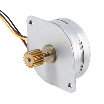 15mm Stepper Motor, Stepper Motor for Mini 3D Printer, Stepper Motor with Wire and Connector Customizable
