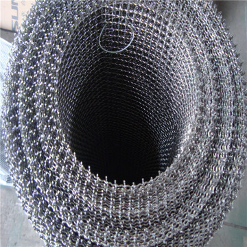 Stainless steel crimped wire mesh for factory