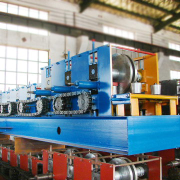 Low-cost 350mm width u profile guide rail roll forming machine