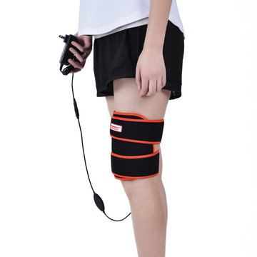 Far infrared carbon fiber heating thigh brace