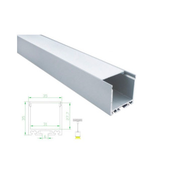 Pendant Mounted Linear Light