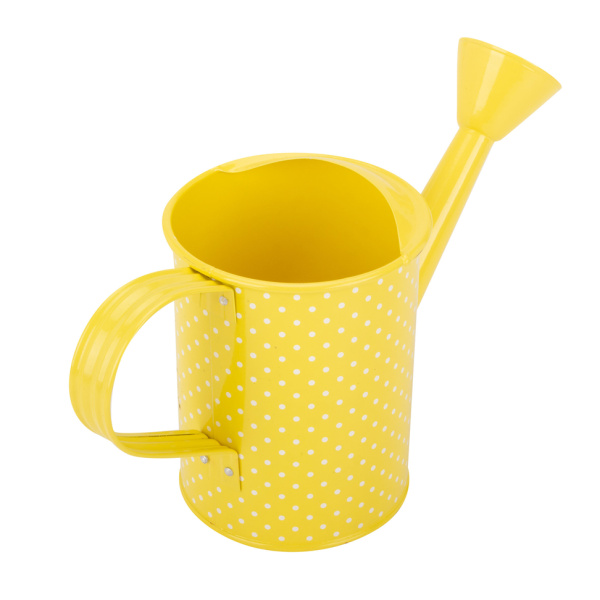 Yellow Little Galvanized Steel Watering Can