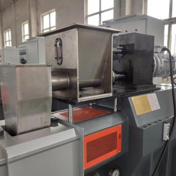 plastic pellet polymer compounding machine