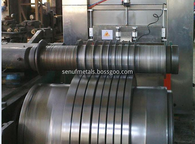 producing steel strips