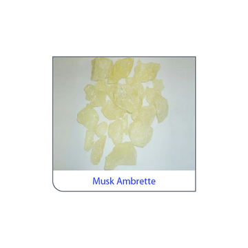 Customized Packing Light Yellow Raw Musk Ambrette Stone