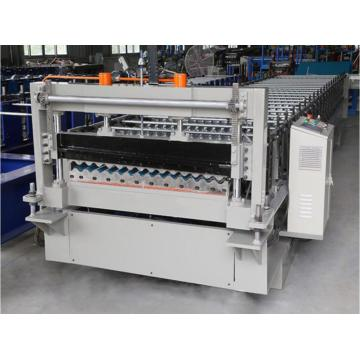 18-728 Iron color corrugated roof panel forming machine