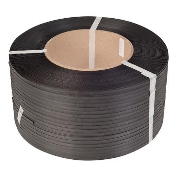 Black color PP strip packaging plastic strap factory
