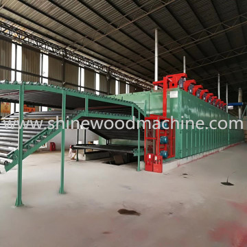 Core Veneer Dryer Machine for Plywood