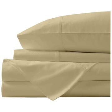 4PCS 1000TC Egyptian Cotton Bed Sheet