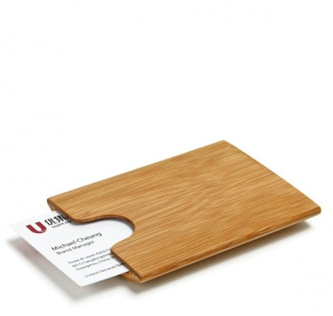 Economic Bamboo Business Card Box