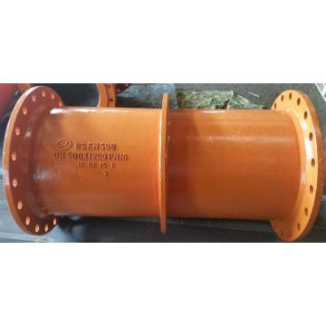 Ductile puddle flange pipe