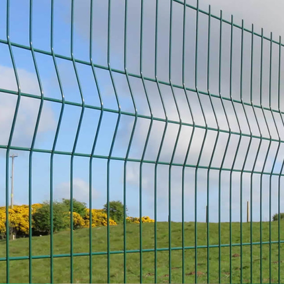 green 3d Wire Mesh Fence