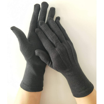 Black Formal Cotton Gloves