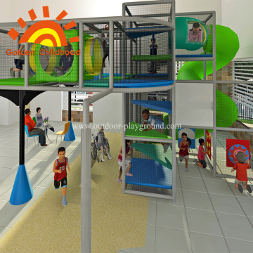 Indoor Playground Equipment Structure For Kids
