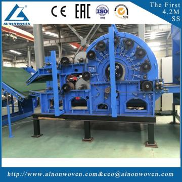 Hot selling ALSL-1850 cading machine for geotixile price carding machine for cotton