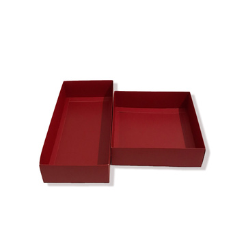 Rectangle paper gift boxes with lid