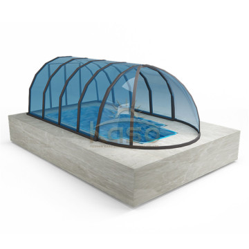 Swimming Pool Enclosures With Polycarbonate Sheet Roof
