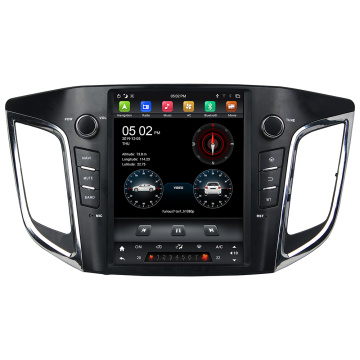 Tesla Style Android 9 ix25 multimedia Car radio