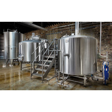 Sanitary 1000L Brewhouse Industrial Brewing Kit