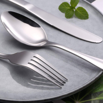 Mirror Polished 4pcs Silverware Flatware Cutlery Set
