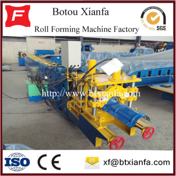 Galvanized Glazed Tile Ridge Cap Roll Forming Machine