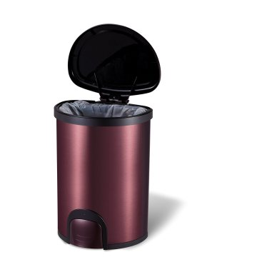 High-End Flip Foot Touch Trash Can