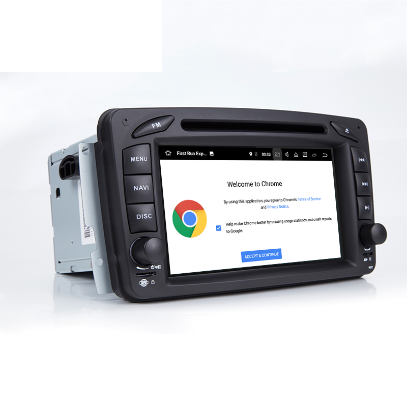 2 Din Car Gps for Benz 203