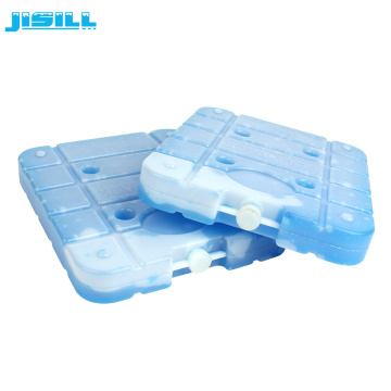 Large food grade reusable ice pack for cold chain transport