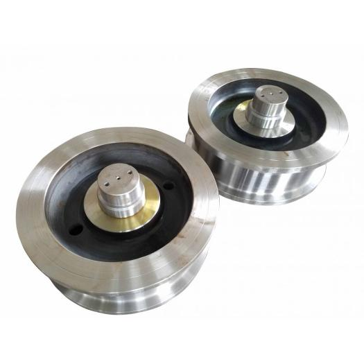 Best selling forged double flange crane wheel