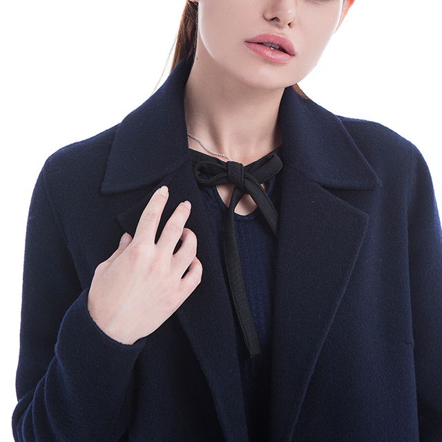 Winter cashmere overcoat