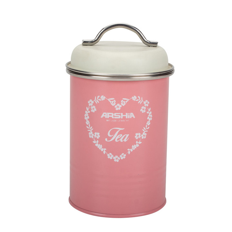 Metal Tea Canister