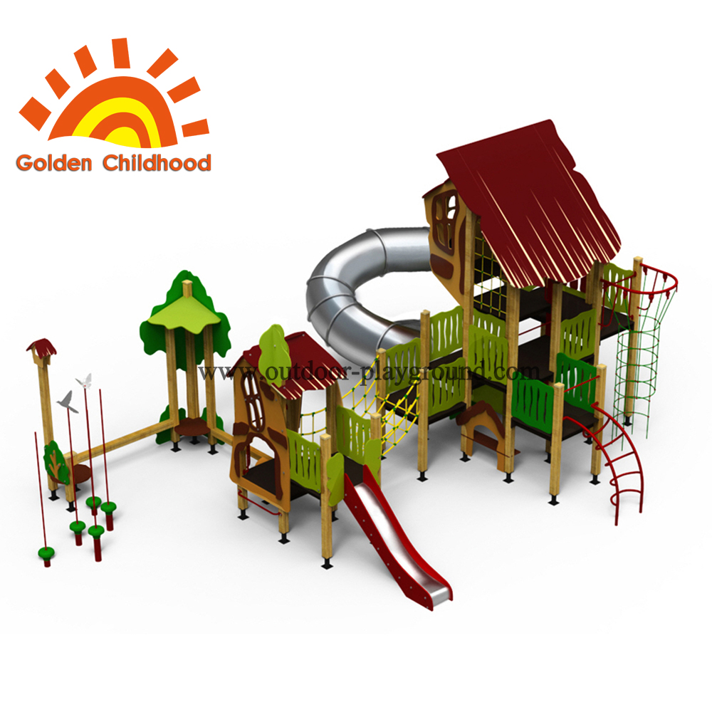 Fun Facility Outdoor Playground Equipment For Children3