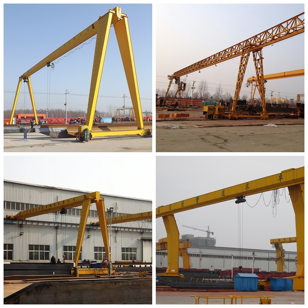 16Ton Single Beam Electric Gantry Crane