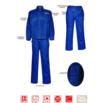 Flame retardant Denim Suit