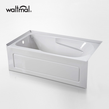 Pool Alcove Bathtub with Integrated Apron
