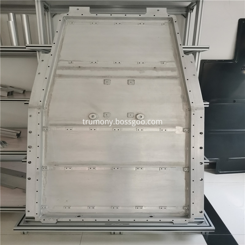 Aluminum Battery Tray07