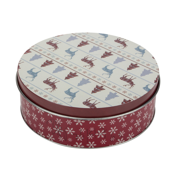Christmas Cookie Tin Target For Sale Recyclable