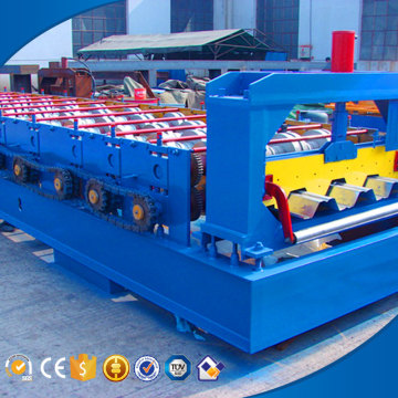 High precision customized thickness floor deck roll forming machine