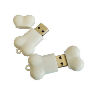 Wholesale Cute Cartoon PVC Bone Usb Flash Drive