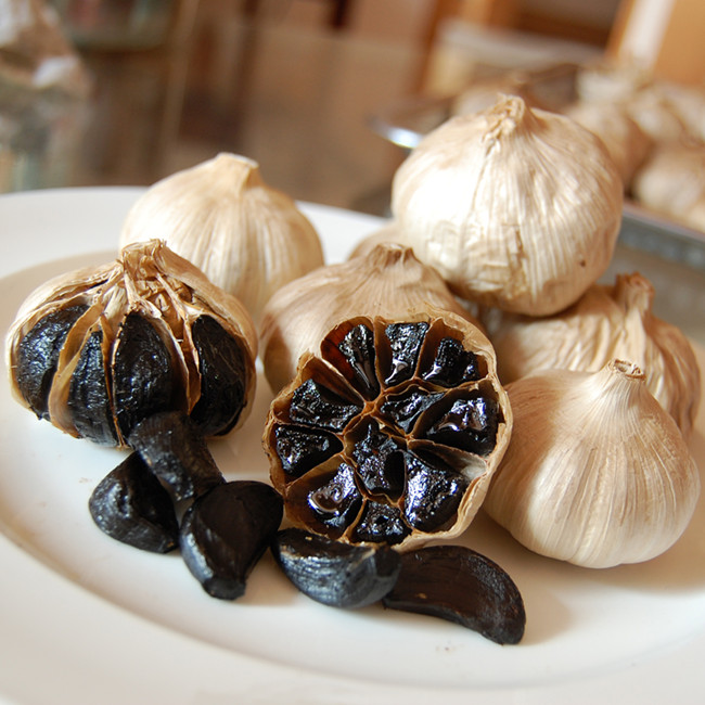 Whole Black Garlic 203